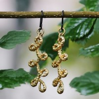 Lasso Lassy Earrings: Gold [E-653] - $11.99 : Spotted Moth, Chic and sweet clothing and accessories for women