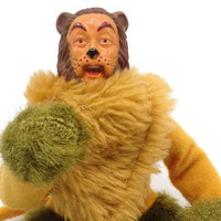 Wizard Of OZ Cowardly Lion Action Figure 1974 Official MGM Doll
