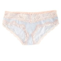 Lace Trim Cotton Boyshort: Charlotte Russe