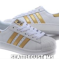 Adidas Superstar GOLD/White