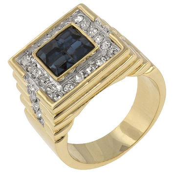 Deep Sea Cubic Zirconia Ring, size : 09