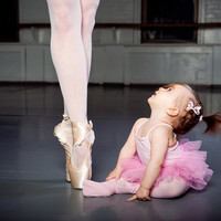 adorable, baby, ballerina, ballerinas, ballet - inspiring picture on Favim.com