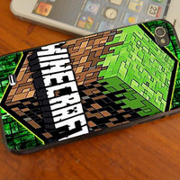 New Minecraft Creeper Game Land iphone 4 /4s/5/5C , samsung galaxy s3/s4 and ipod touch 4/5 cases