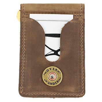 Horween Front Pocket Wallet by Over Under Clothing