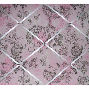 Victorian Parlor Toile French Memo Board by toilechicboutique