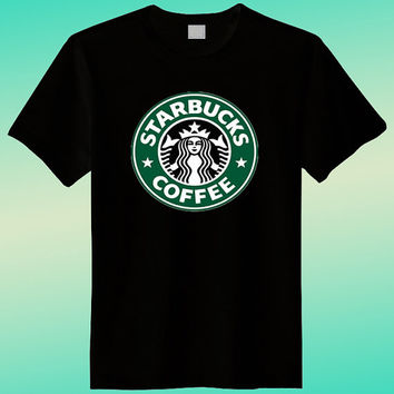 Starbuck Coffee Black Shirt , Funny Shirt, Joke Shirt, Ladies Shirt, T shirt Mens, T shirt Girls, Screenprint, Clothing T Shirt