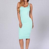 Shara Dress - Mint