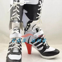 Suicide Squad Harley Quinn Costume Boots Euro Sizing