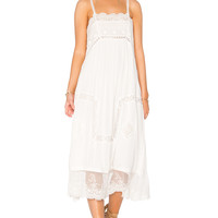 Spell & The Gypsy Collective Peaches Slip Dress in White | REVOLVE