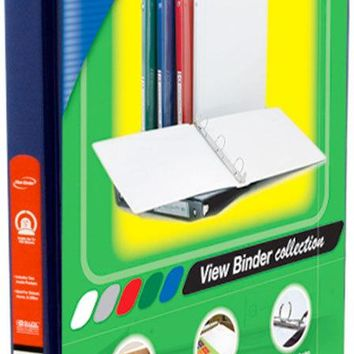 3-Ring View Binder - Blue Case Pack 12