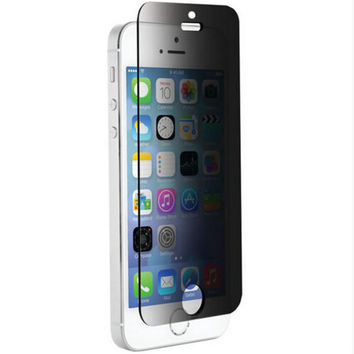 Toughened Glass Screen Protector (privacy) for iPhone 5 se & iPhone 6 6 Plus & iPhone 7 7 Plus + Free Gift Box