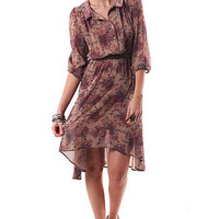 Silk Spin Dress - Floral Dresses at Pinkice.com