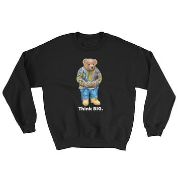 Vintage Culture NYC Think BIG Crewneck Sweatshirts