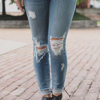 Burn Brighter Denim
