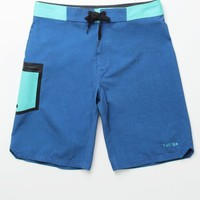 Tavik Vital Boardshorts - Mens Board Shorts - Blue