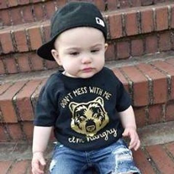 """""""Don't Mess with Me"""" Hangry Toddler Tee"""