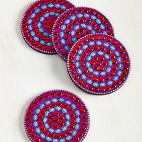 Rum the Jewels Coaster Set | Mod Retro Vintage Kitchen | ModCloth.com