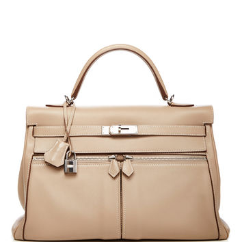 Hermes 35cm Argile Swift Kelly Lakis