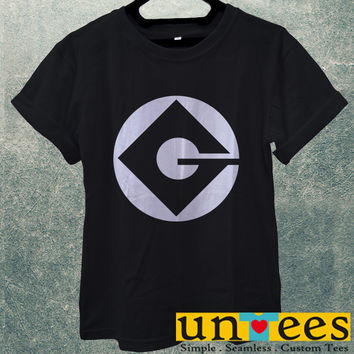 Low Price Men's Adult T-Shirt - Minion G Logo design