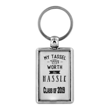 Graduation gift  Keychain ring Gift for Him Her High school College Grads Class of 2019
