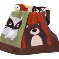 Foxy & Friends Blanket Image - far1010bed3 - Type 1