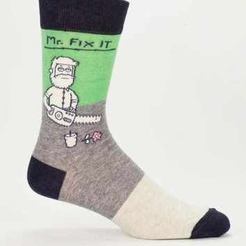 Mr. Fix It Men's Crew Socks