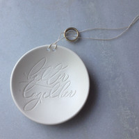 BETTER TOGETHER Ring Bearer Bowl with optional personalization in collaboration with Chelsea Petaja