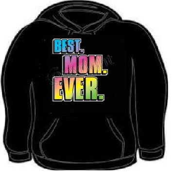 Hoodie: best mom ever mothers gift mama hoodies sweat shirt unisex adults mother love