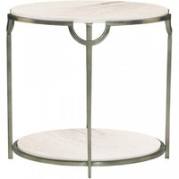 Morello Round End Table by Bernhardt