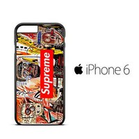 supreme to release collection featuring basquiats V1635 iPhone 6 Case