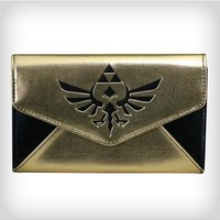 Zelda Gold Envelope Wallet