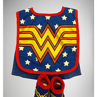 Wonder Woman Bib and Bootie Set - Spencer's
