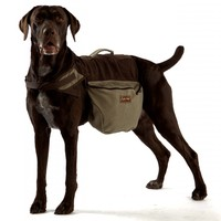 ABO Gear 100% Cotton Canvas Dog Backpack