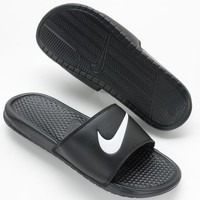 Nike Benassi Swoosh Slide Sandals - Men