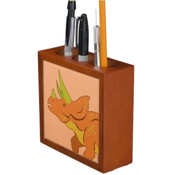 Triceratops Pencil/Pen Holder