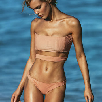 S.I.E SWIM | Gigi Top x Madison Bottom Bikini Separates (Nude Rib)