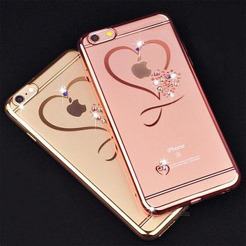 Ultra Thin Glitter Phone Cases for iPhone 6/6s/7/7 Plus/8/8 Plus