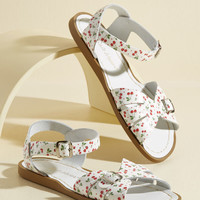 Spritz of Salt Water Leather Sandal