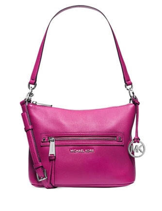 888a60a6cc2 Michael Michael Kors Rhea Medium Leather Convertible Shoulder Bag