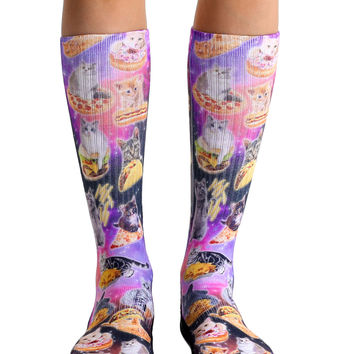 Cat Cravings Sport Socks