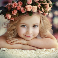 cute flower girl on imgfave