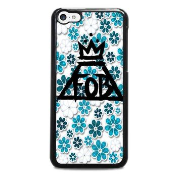 fall out boy floral iphone 5c case cover  number 1
