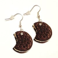 Oreo Cookie Earrings