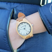 Eco-Friendly Wood Watch Wanderlust Limited Edition