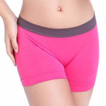 women Boxers Women's Boxer Shorts Sexy Underwear Women Panties Sportwear Shorts Wholesale 3 Colors
