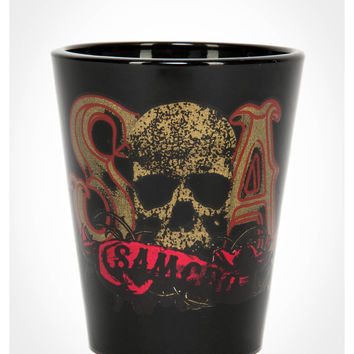 3 oz. Sons of Anarchy Gold Logo Shot Glass