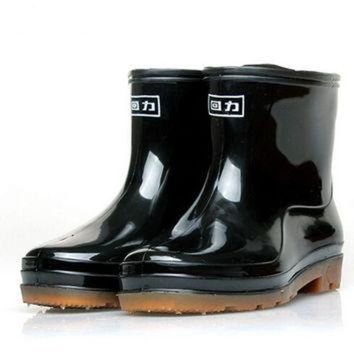 Rain Boots Men Rainboots winter boots Winter Rainboots women Snowing Boots lostlands W
