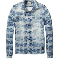 Denim Inspired Worked-Out Shirt - Scotch & Soda