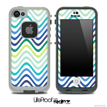 Swirly V3 Fun Color Pattern Skin for the iPhone 5 or 4/4s LifeProof Case