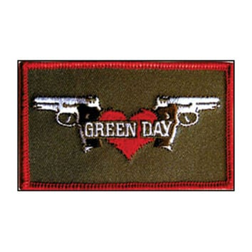 Green Day Men's Embroidered Patch Brown